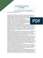La modernización de las mujeres. Una mirada al Uruguay del novecientos - A. Lissidini