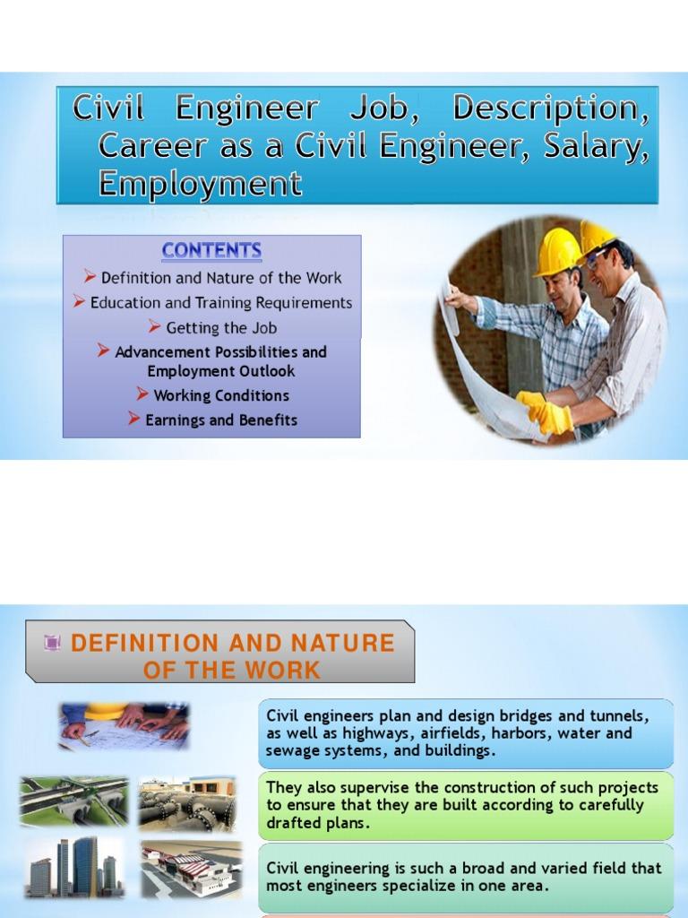 ingles definicion de ing. civil | engineer | civil engineering