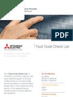 Mitsubishi Elec Fault Codes