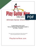 PGN Ultimate Guitar Chord Book