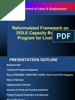 Reformulated Framework - Aug 29