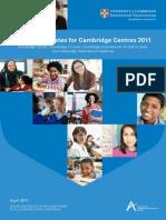 Syllabus Updates 2011