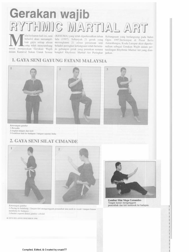 Rythmic Martial Art Kesuma 1997 Edited Seni Beladiri