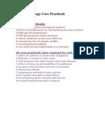 Edexcel Bio Core Practicals!