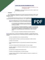 BRASIL Reglamento de Servicios de Radiodifusión - Decreto-Ley Nº236 de 1967