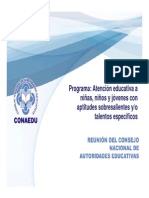 XVIII 1 Programa Aptitudes Sobresalientes (1)