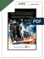 Vespasiano, Tribuno de Roma - Robert Fabbri