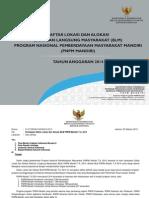 Buku Daftar Lokasi Dan Alokasi Blm Pnpm Mandiri 2014