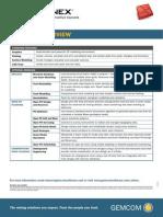 Gemcom Minex Modules Overview DS