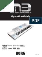 Korg M3 Manual en Ingles