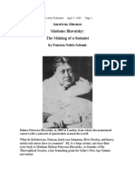 Madame Blavatsky;  The Making of a Satanist