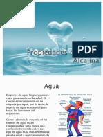 Propiedades Del Agua Purificada Alcalina