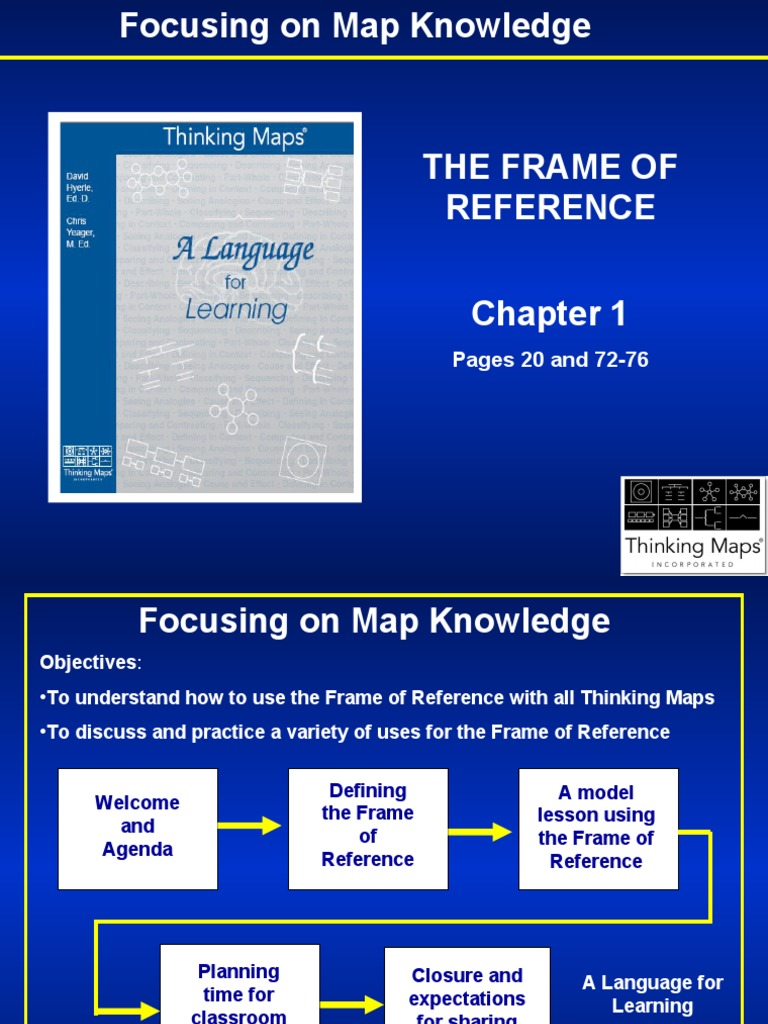 focus on the frame of reference | Knowledge | Applied Psychology