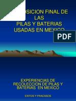 Disposicion Final de Las Pilas