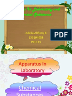 Aparatus and Chemical Substance