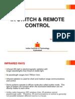 IR Switch & Remote Control