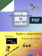 Determinacion de Glucosa
