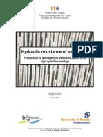 Hydraulic Resistance of Vegetation