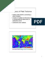 Lecture 11 Mantle Convection