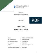 HBEF2703 KOKURIKULUM ( INDIVIDU)