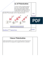 Classification of Polarization