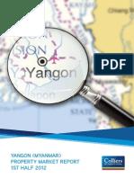 Yangon Property Market Report 1 H 2012