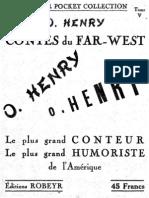 Contes Du Far West par O. Henry