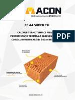 Studiu Termotehnic EC 44 Super TH