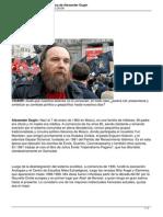1185 Entrevista La Vision Geopolitica de Alexander Dugin