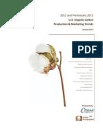 Organic Cotton Report - 2012-2013