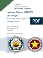 Batasan Hills National High School Intensified Dropout Reduction Program (BIDORP)
