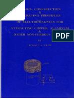 Leonard R Crow - Attracting Copper, Aluminum & Other Non-Ferrous Metals - Extra