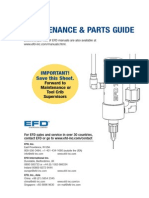 Nordson EFD 741V Maintenance Guide