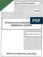 Clásicos del Personalismo - Emmanuel Levinas