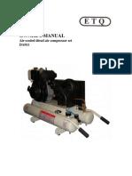 Diesel Air Compressor