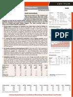 Mayur Uniquoters research report Centrum
