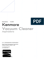 Kenmore Intuition Canister Vac Owners Guide for Model 28014 / 116.28014.700