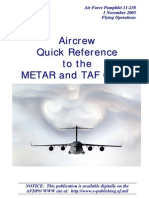 METAR and TAF Codes
