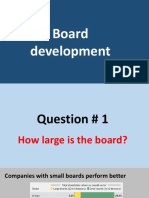 Board development