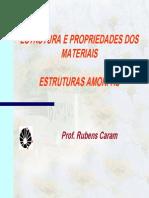 Estruturas Amorfas, Rubens Caram - Port