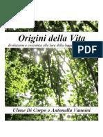 Origini Della Vita