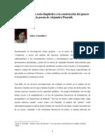 Indira Calzadilla - Un acercamiento sociolinguistic  la construcción del género en la poesía de Alejandra Pizarnik