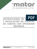 PuertaCabina Con Operador Mecanico