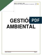 GESTIN AMBIENTAL