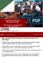 Rebuilding Zimbabwe's Microfinance Sector