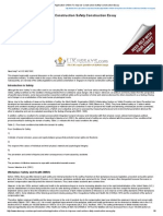 Application of Bim to Improve Construction Safety Construction Essay