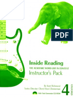 Oxford - Inside Reading 4 Instructors Pack