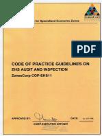 ZC COP EHS11 Audits & Inspections