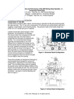 Improving the Reliability and Performance of Bar Mill Rolling Stand Spindles - A