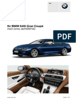 Bmw 640i Grand Coupe 124k